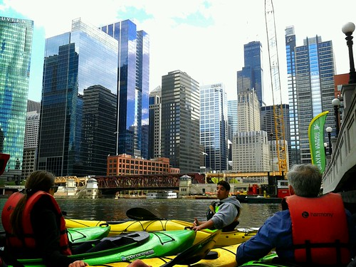 Chicago River with Urban Kayaks