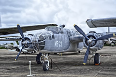North American Mitchell PBJ-1D BuNo 35087 (National Naval Aviation Museum)