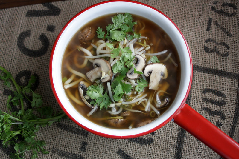 Lemongrass Udon Soup