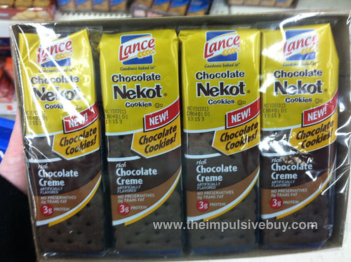 Lance Chocolate Nekot Cookies