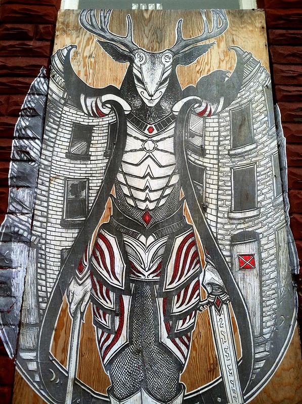 Bmore Gargoyle - detail