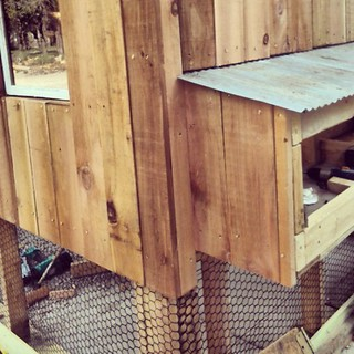 Since I'm #notgoingtomarket we built a chicken coop! Power tools are awesome!
