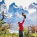 Father and son in Patagonia