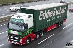 Volvo FH 6x2 Tractor - PX11 BWW - Melissa - Eddie Stobart - M1 J10 Luton - Steven Gray - IMG_7838