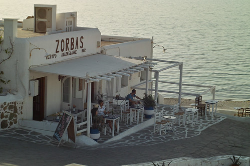 Zorbas Bar, Mykonos Town by i_noriyuki