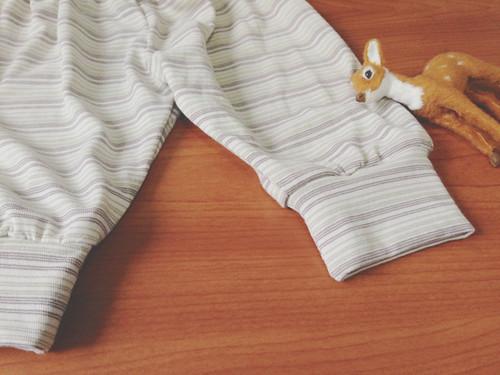 Baby cuffed pants