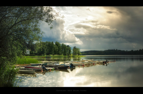 lake nature water clouds zeiss landscape boats 28mm contax f2 distagont228 nex7