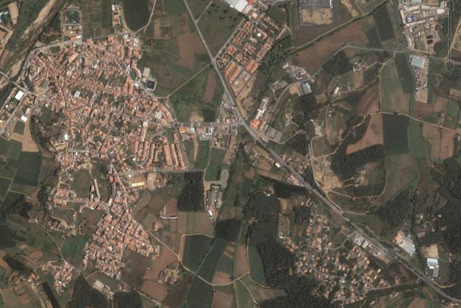 tordera, barcelona, cataluña, catalunya, antes, urbanismo, foto aérea, desastre, urbanístico, planeamiento, urbano, construcción