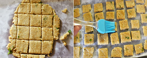 Oats Crackers Recipe - Step3