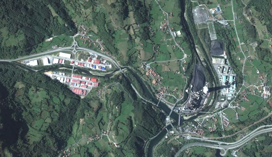 Soto de Ribera, Asturias, central térmica, políganos a go-gó, el abuelo fue picador, después, urbanismo, planeamiento, urbano, desastre, urbanístico, construcción, rotondas, carretera