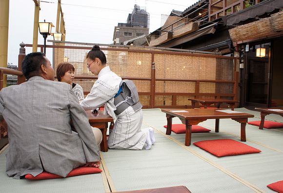 京都美食納涼床13