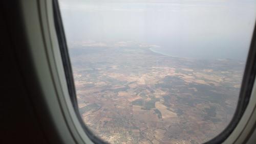 Aterrizaje en Palma de Mallorca
