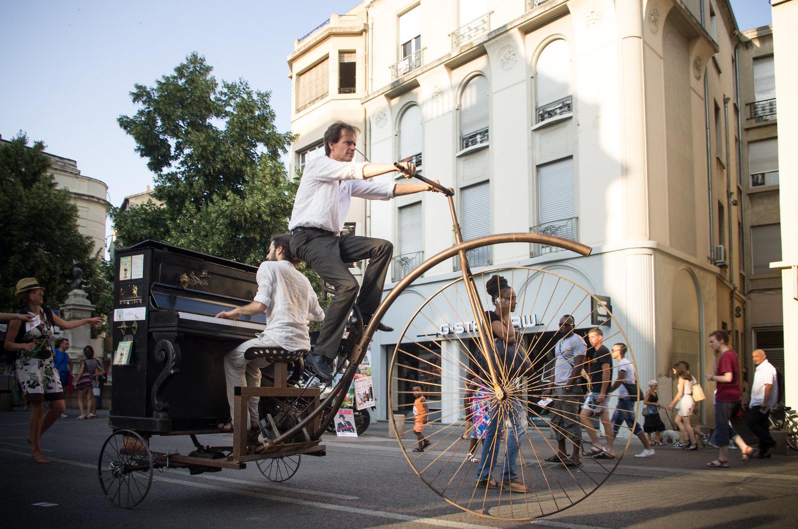 Festival d'Avignon - Piano-bi