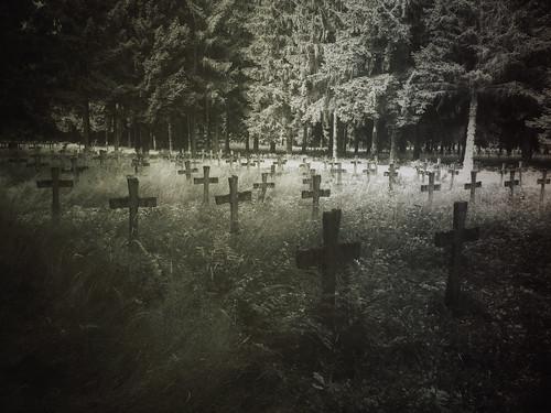 cemetery of insane......