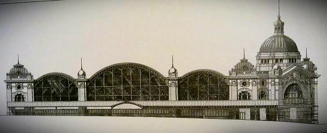 Flinders Street Station - original design
