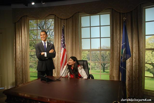 President Obama & Cherie