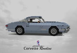 Pininfarina Chevrolet Corvette Rondine 1963