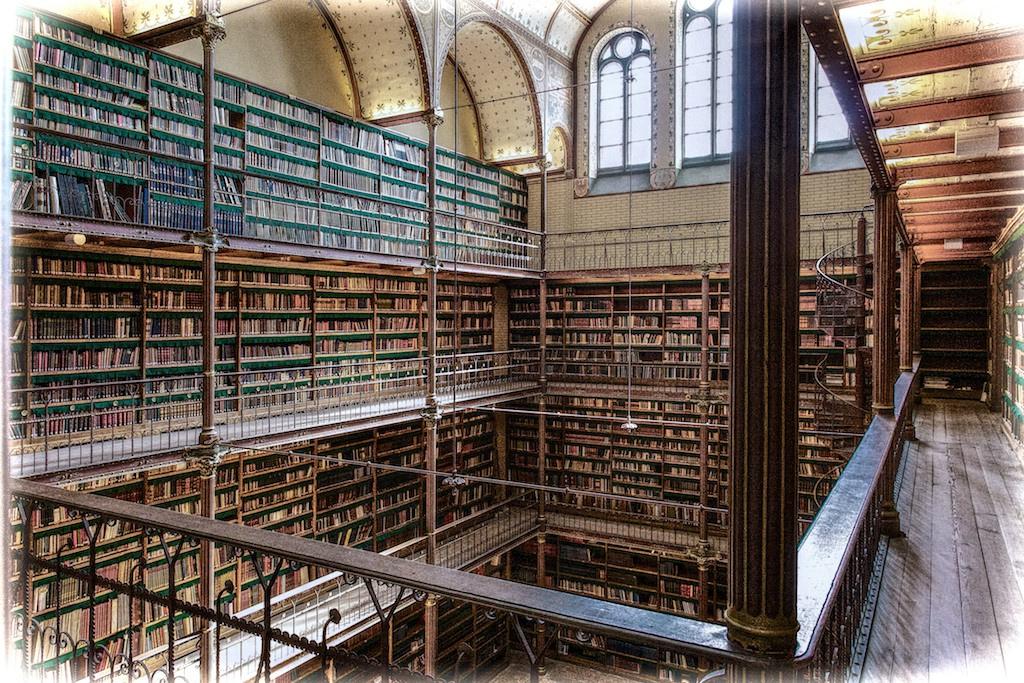 7. Biblioteca en el Rijksmuseum. Autor, Ton Nolles