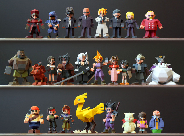 Square Enix stops fan from selling 3D-printed 'Final Fantasy VII' figures