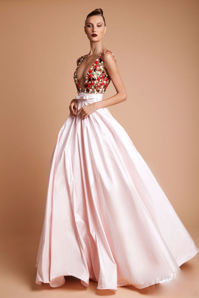 Jonnessa stunning couture rani zakhem for Loving haute couture