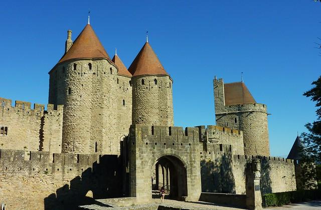 Carcassonne cit porte narbonnaise explore thierry for Porte narbonnaise