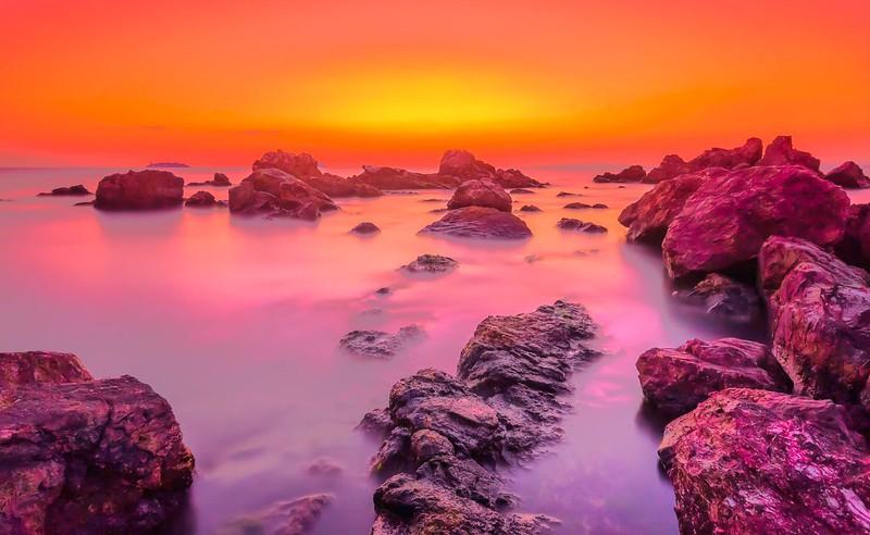 Prince Island sunset