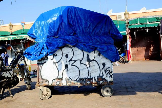 graffiti | marrakesh