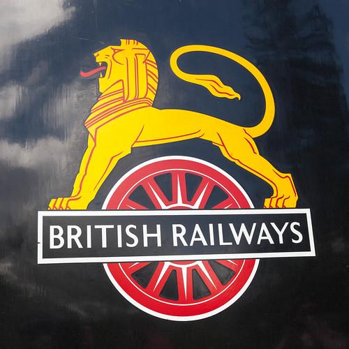 British Rail; copyright 2013: Georg Berg