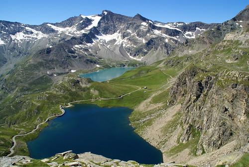 Ceresole Reale --Diga del Serrù e dell'Agnel , nel Parco Nazionale Gran Paradiso , alta Valle Orco , Piemonte-----On Explore 29 settembre 2013  # 31