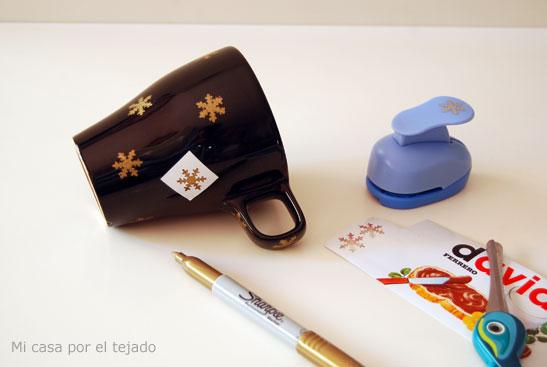 DIY Taza navidad con Sharpie 02 Micasaporeltejado