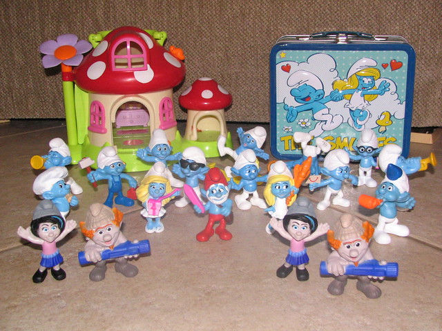 Mcdonald S Happy Meal Toys 2013 : Mcdonald s smurfs happy meal toys flickr photo