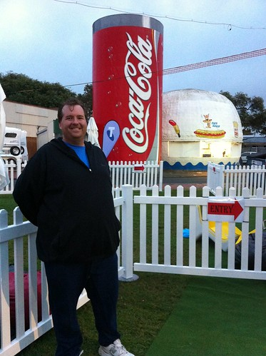 Perth Royal Show - Mike and the Iconic Hamburger