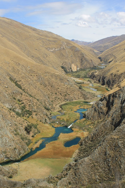 The upper Rio Cañete