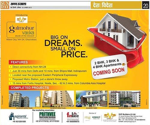 SVP Newspaper Ad