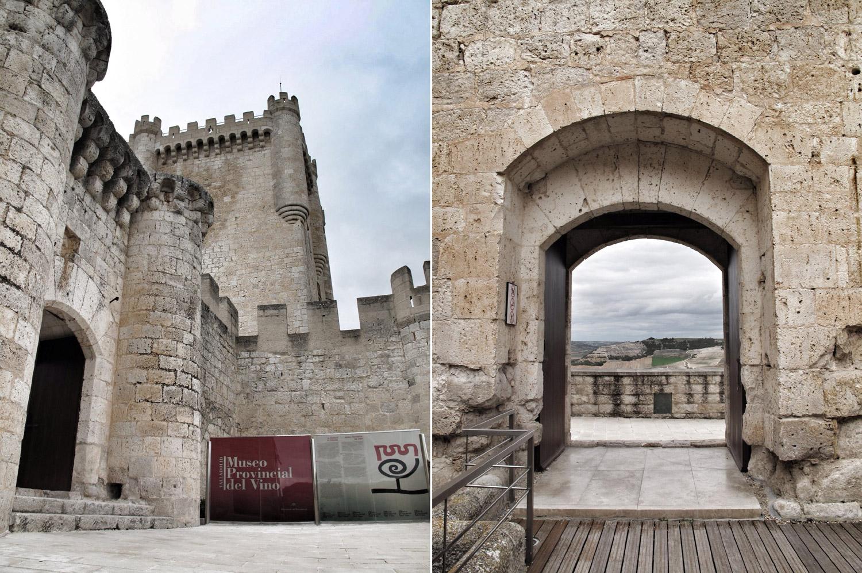 castillo de peñafiel_matacán_modillon_museo del vino