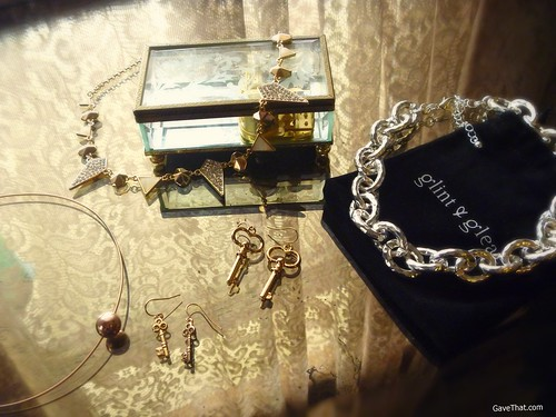 Glint and Gleam Jewelry Pieces on Gift Style Blog Gave That