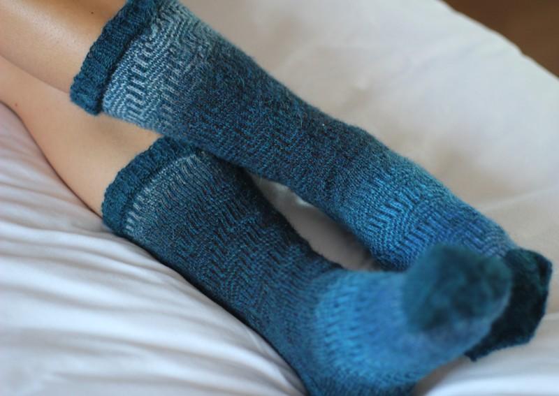 Pucker socks