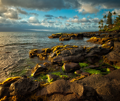 Light on Kaanapali coast