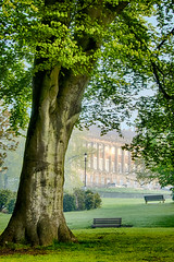 Royal Crescent at first light