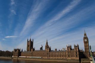 Le Palais de Westminster et Big Ben
