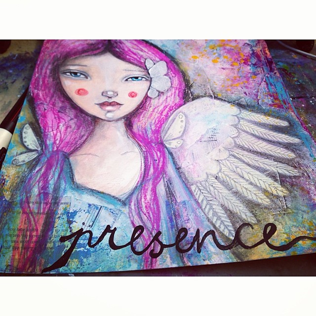 My word for 2014. Presence as in: present to life, present to my feelings, present to the NOW.  #lifebook2014