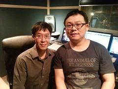 金音獎得主林生祥(左)為本片擔任配樂;與導演張博鈞(右)合照。(圖片來源:張博鈞)