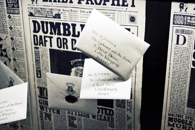 Harry Potter Hogwarts letter