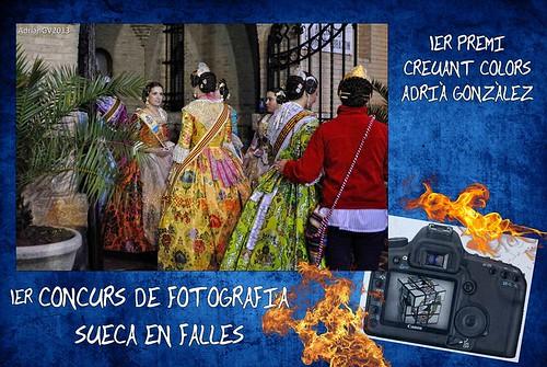 "1er premi concurs de fotografia ""Sueca en falles"" by ADRIANGV2009"
