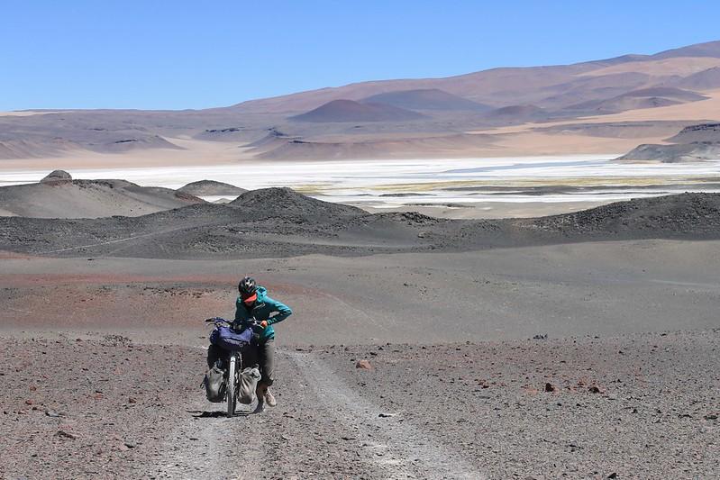 Pushing to Volcan Antofalla