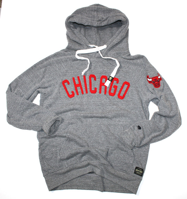 Sportiqe Black Label Chicago Bulls Olsen Sweatshirt