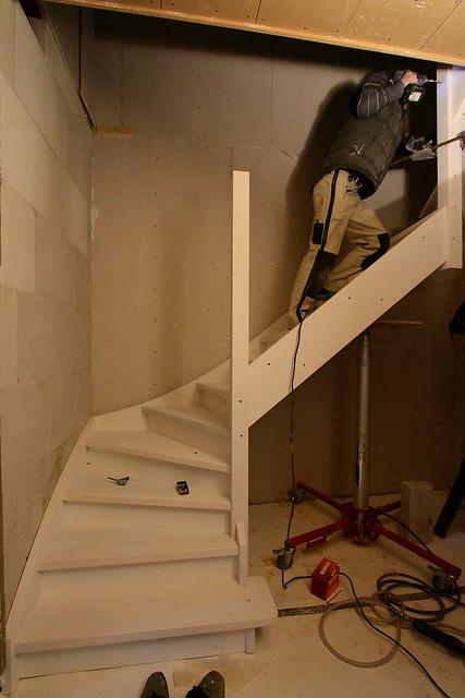 Nieuwe trap plaatsen in het achterhuis flickr photo for Plaatsen trap
