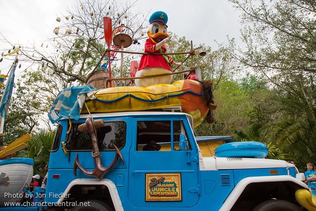 WDW Spring 2013 - Mickey's Jammin' Jungle Parade