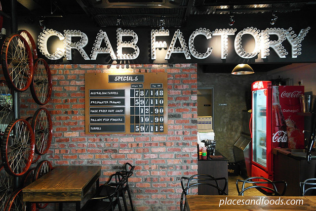 crab factory interior