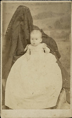 Ella Grace Brown Burdick - Hidden Mother CDV
